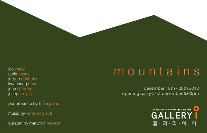 mountains flyer